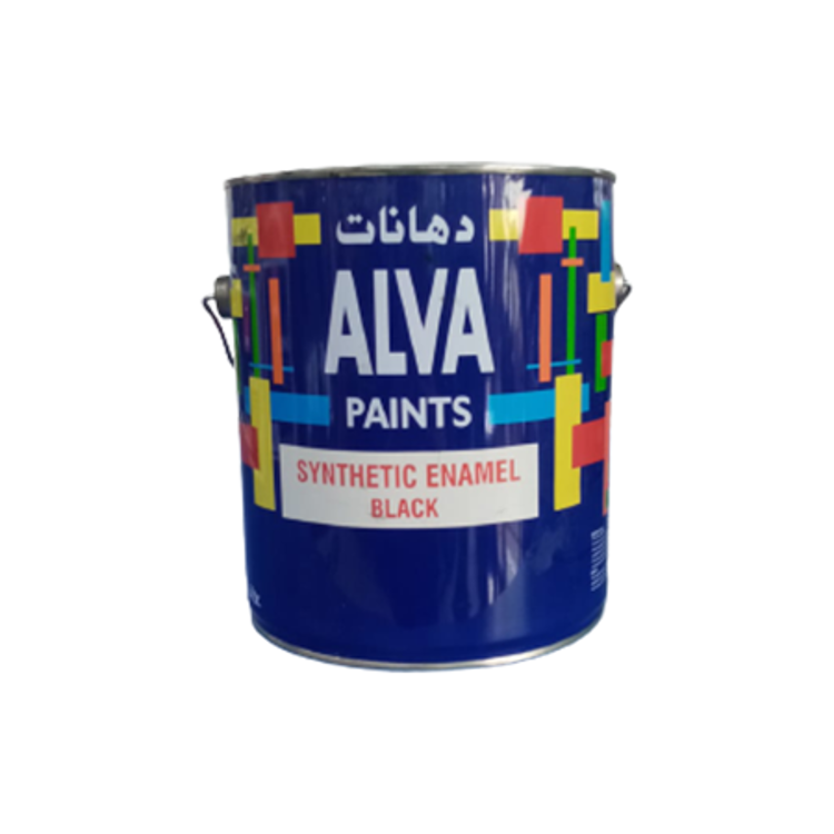 Paint | Black | 1 Gallon | Synthetic Enamel for Metal
